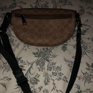 Coach Accessories - Coach Souvenir pins Leather Belt Bag